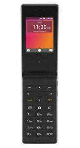 UNLOCKED TELSTRA FLIP 2 ZTE T21 4GX 3G BIG BUTTON BLACK PHONE BLUE TICK