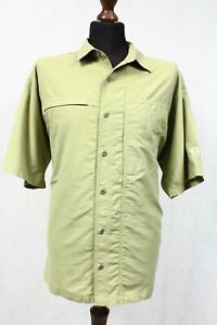 Mountain Hardwear Herren outdoor hemd freizeithemd kurzarm kragen  shirt  Gr. XL