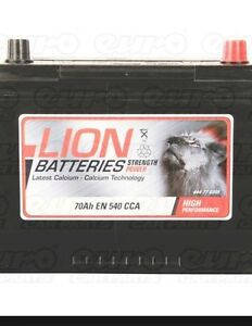 LION 030 / 068 PREMIUM 12volt 70ah CALCIUM CAR BATTERY, BRAND NEW, 4YR WARRANTY