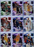 2019-20 Donruss ELITE Basketball Base Singles #'s 1-100 - Pick Your Players