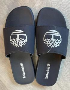 Mens Timberland Size 8 NAVY Flip Flops  New