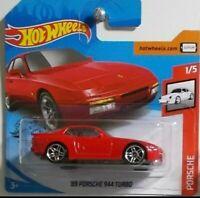 Hot Wheels Porsche 2020 1989 Porsche 944 Turbo Indischrot  GHB54 1//64