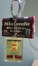 Nintendo Famicom NES Keyring Collectible Console Encased in Acrylic Block NEW