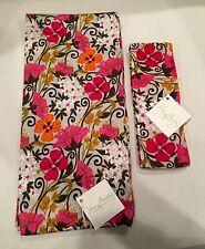 NWT VERA BRADLEY $86 Knit Head Band Ear Warmer & Scarf Set Tea Garden~Sold Out!