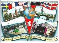 Frankfurt Main alte Postkarte gelaufen am 3.10.61
