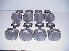 "TRW #2304 Forged Dome .030"" Pistons & 5.7 Connecting Rods for SB Chevy 355 L@@K"