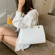 Large Capacity Women Shoulder Bag Pu Leather Chain Crossbody Designer Luxury