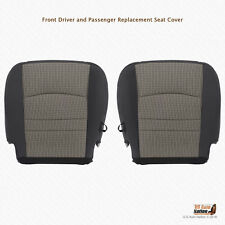 2011 2012 Dodge Ram 1500 2500 SLT DRIVER-PASSENGER Bottom CLOTH Seat Cover GRAY