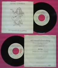 LP 45 7'' AZTEC CAMERA All I need is everything Jump MARK KNOPFLER no cd mc dvd