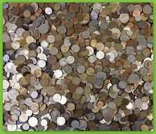 Unsearched Foreign Coin Lot! FIVE FULL POUNDS of World Coins! PLUS CURRENCY!
