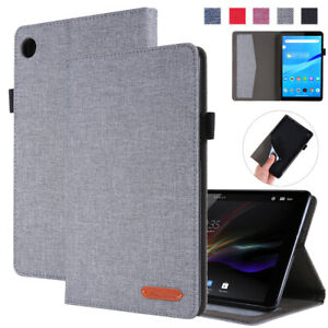 Flip Stand Card Holder Case Cover For Lenovo Tab M8 TB-8505F TB-8505X 8in Tablet