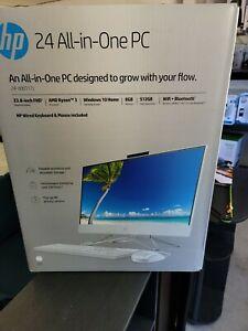 """HP 24-dd0017c 23.8"""" (1TB, AMD Ryzen 3 3250U 2.6GHz, 8GB) All-in-One 1K0D7AA#ABA"""