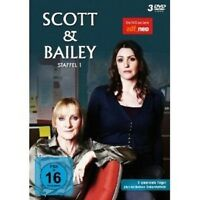 SCOTT & BAILEY - STAFFEL 1 3 DVD MIT SURANNE JONES NEU