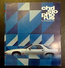 Christophorus Nr. 172 5/81 Titelbild: Porsche 928, Poster: 31x Porsche 1948-1980