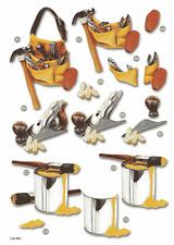 Craft UK Die Cut Decoupage Line 496 - DIY Handyman
