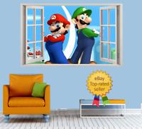 Turbo the Snail 3D Magic Window Wall Smash Art Adhesive Vinyl Sticker V5*