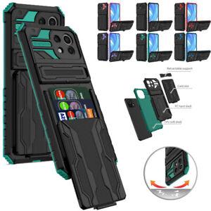 For Xiaomi Poco X3/M3 Redmi Note 10 Pro 10X Card Holder Heavy Duty Case Cover