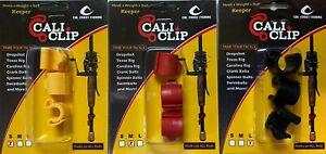 CAL COAST CALI CLIP - Hook Keeper, Drop Shot, Texas Rig, Swimbaits - Choose Size