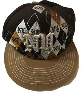 "KB ETHOS ""NEW YORK"" NY Official Baseball Cap Hat VGC- 3D Logo Brown Cool"