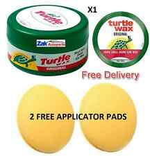 Turtle Wax Original Wax Paste Car Polish Wax Hard Shell Shine+Applicator Pad Set