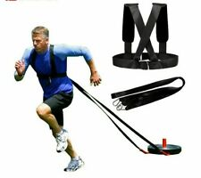 Running Sled Harness Shoulder Weight Training Straps Fitness Equipment