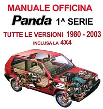 Manuale Officina PDF FIAT Panda prima serie 141 tutte le versioni 1980/2003 4x4