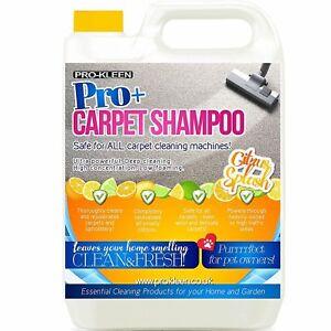 Pro-Kleen Pro+ Citrus Carpet Shampoo Rug Cleaner Eliminates Smells, Concentrated