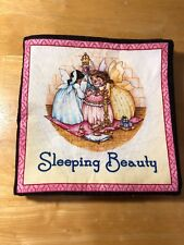Cloth Plush Handmade picture book Sleeping Beauty for baby toddler kid