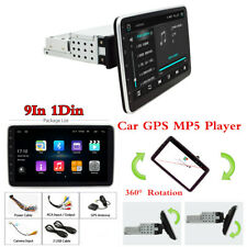 9In 1Din Android 9.0 Gps Navegación Coche Radio Estéreo reproductor de audio Bluetooth Wifi