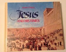 1990 Readers Digest Jesus and His TImes Book Very Good Condition