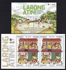 Philippines 2020 Traditional Children Games sheetlet/8 + SS complete mint NH