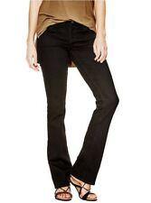 Guess Women's Mid Rise BootCut Jeans Black Silicone Rinse Soubea Wash Size 26