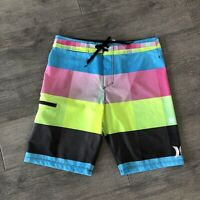 HURLEY Board Shorts Mens Size 32 Stretch Boardies Boardshorts Stretch