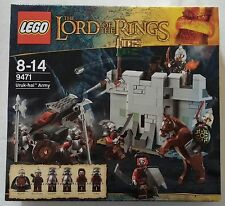 LEGO® Lord of the Rings™ Herr der Ringe 9471 Uruk-Hai Armee Neu & OVP new sealed