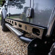 Land Rover Defender Stainless Steel Hurricane rocksliders 110 - Uproar 4x4