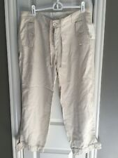NWT Gap Womens Cropped Pants Cargo Size 10