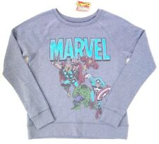 8fa1c522991 Original Marvel Comics Heroes Women s Ladies Sweatshirt Size Medium NWT