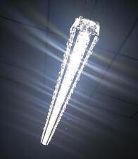 Crystal 27 inch Long LED Chandelier Room Shop Bar Ceiling Light Modern Fixtures