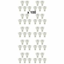 100 x Luceco GU10 Non Dimmable 3W LED Lightbulb Lamp 210lm 4000K Natural White