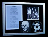 THE DAMNED Stretcher Case PUNK CD TOP QUALITY FRAMED DISPLAY+EXPRESS GLOBAL SHIP