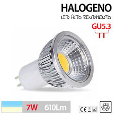 LED Halogenos GU5.3 lampara LED blanco frio o calido 3W 5W 7W LUZ LED INSUPERABL