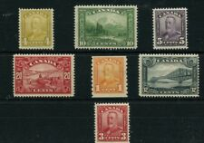 Scroll issue lot MH nice VF 3c Cat $130 Canada mint