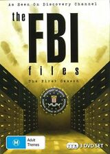 The FBI Files : Season 1 (DVD, 2011, 3-Disc Set)