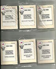 1989-90 Pro Cards Continental Basketball League 16-Teams Set  Tim Legler   +++