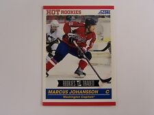 Marcus Johansson ROOKIE CARD #641 (Lot of 5) 2010-2011 Score ROOKIES & TRADED