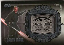 2013 Star Wars Galactic Files series 2  MD-17  Medallion card