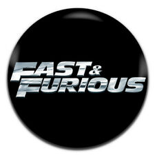 Fast And Furious Movie 25mm / 1 Inch D Pin Button Badge
