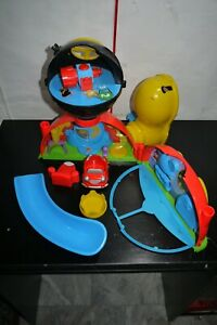 DISNEY Junior Mickey Mouse Clubhouse Deluxe Playset USED INCOMPLETE