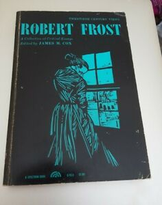 Twntieth Century Views Robert Frost Critical Essays James M Cox 1962
