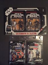 Hasbro Commemorative Tin Set 2 Action Figure Vintage Carded Lot, Great Price!